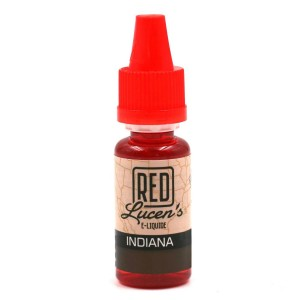 E-Liquide RED LUCEN'S – Indiana 0 mg
