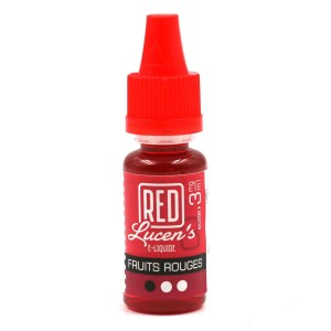 E-Liquide RED LUCEN'S – Fruits Rouges 3 mg