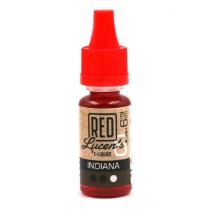 E-Liquide RED LUCEN'S – Indiana 6 mg