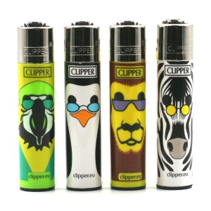 Lot de 4 Briquets Clipper – Having Fun 3