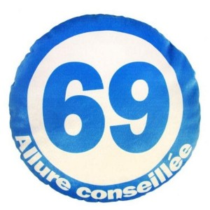 Coussin 69 Allure Conseillee