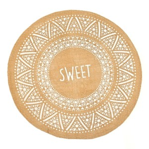 Set de Table en Jute - SWEET - lot de six