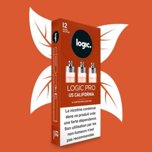 E-Liquide en Cartouche Logic Pro – Us California 12 mg/ml