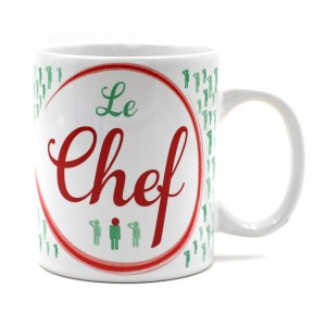 Mug - le Chef et son message