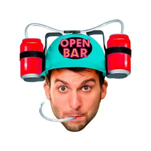 Casque Anti - Soif  OPEN BAR