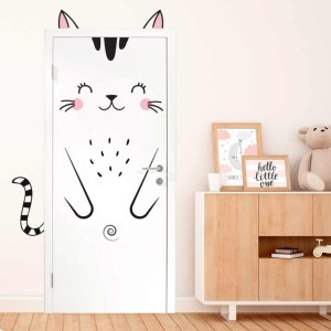 Stickers de Porte – Chat