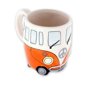 Mug Camper Bus - orange