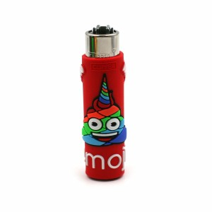Clipper Etui Pop Cover – Emoji Poo Rouge