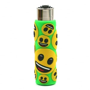 Clipper Etui Pop Cover – Emoji Sourire Vert