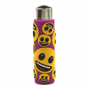 Clipper Etui Pop Cover – Emoji Sourire Violet