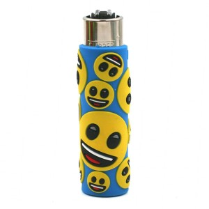 Clipper Etui Pop Cover – Emoji Sourire Bleu