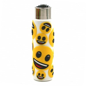 Clipper Etui Pop Cover – Emoji Sourire Blanc
