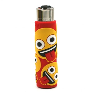 Clipper Etui Pop Cover – Emoji Langue Rouge