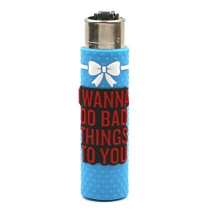 Clipper Etui Pop Cover – Sexy Bad Things Bleu