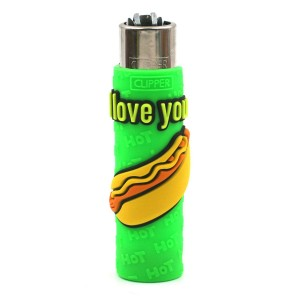Clipper Etui Pop Cover – Sexy Hot Dog Vert