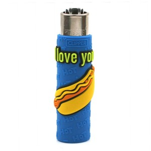 Clipper Etui Pop Cover – Sexy Hot Dog Bleu