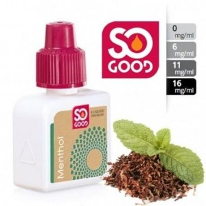 E-Liquide Menthol 6mg/l - SO GOOD 10 ml