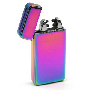 Briquet Double Arc Belflam – Rainbow