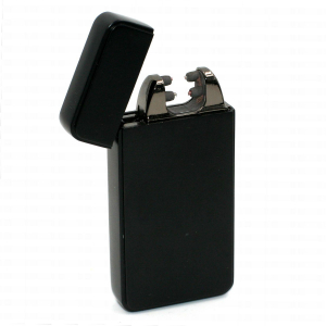 Briquet Double Arc Belflam – Black