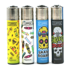 Lot de 4 Briquets Clipper – Urban Skate