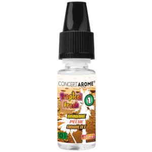 E-liquide Conceptarôme Tropical Fresh N°1 - 0 mg.