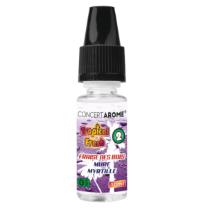 E-liquide Conceptarôme Tropical Fresh N°2 - 0 mg.