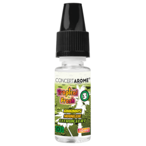 E-liquide Conceptarôme Tropical Fresh N°3 - 0 mg.