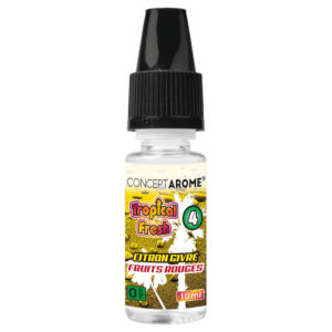 E-liquide Conceptarôme Tropical Fresh N°4 - 0 mg.
