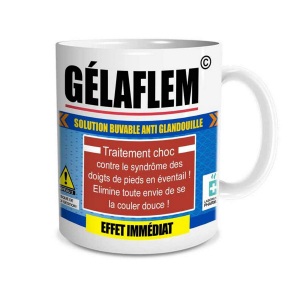 Mug - gélaflem solution Anti Glandouille