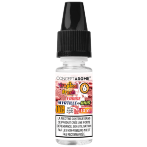 E-liquide Conceptarôme Tropical Fresh N°6 – 11 mg.
