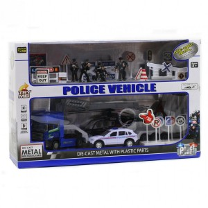 Coffret Police force sonore et lumineux