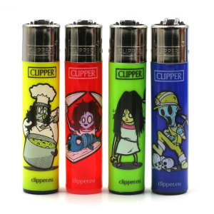 Lot de 4 clipper Zombies 3