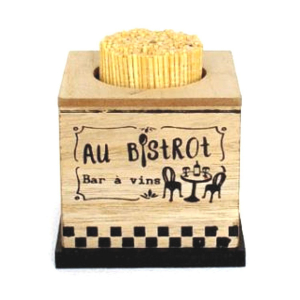 Porte Cure Dents collection 'Au Bistrot'