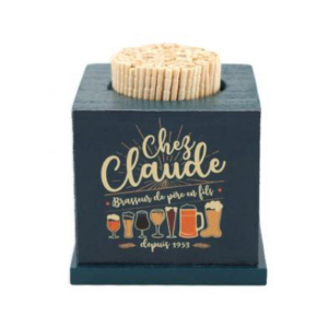 Porte Cure Dents collection 'Chez Claude'