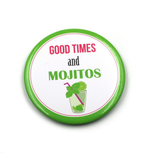 Magnet à texte - Good Times and Mojitos