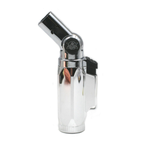 Briquet Silver Champ High 4 Flammes turbo orientable