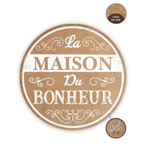 Lot de 6 set de table La Maison du Bonheur