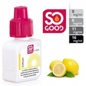 E-Liquide Citron 0 mg/ml - SO GOOD 10 ml