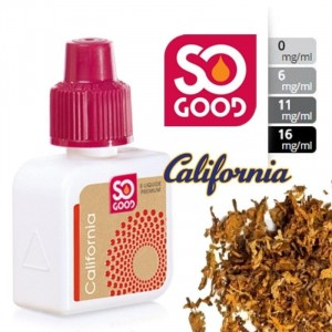 E-Liquide California 16 mg/l - SO GOOD 10 ml
