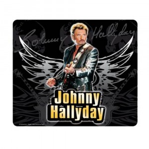 Tapis Souris Johnny Hallyday (3)