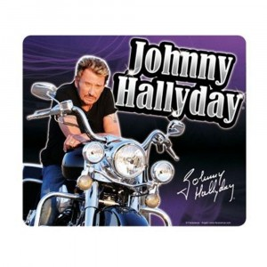 Tapis Souris Johnny Hallyday (4)