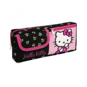Trousse Avec Poche Hello Kitty