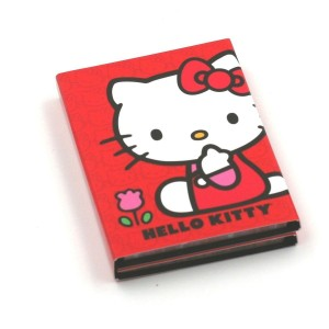 Carnet de Notes Rouge - Hello Kitty