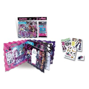 Cahier Monster High + 28 Stikers