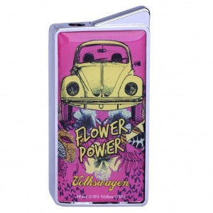 Briquet Gaz Volkswagen - Flower Power Rose