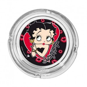 Cendrier rond Betty Boop modèle 1