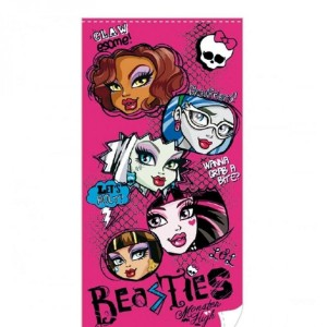 Monster High serviette de bain Faces