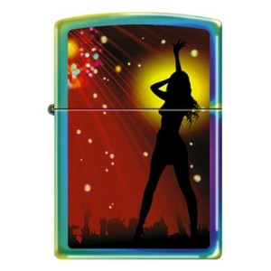 Zippo Woman on Stage