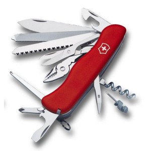 Workchamp Rouge - Couteau Suisse Victorinox (0.9064)