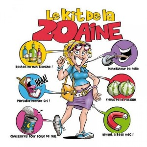 Tee Shirt - Le kit de la 20 aine